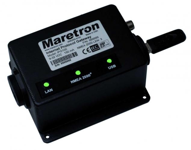 Maretron IPG100 - Internet-Protokoll-Schnittstelle