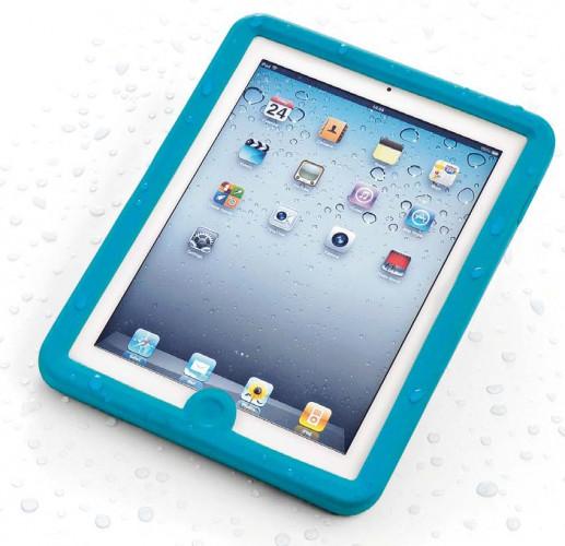 iPad Case, wasserdicht, für iPad1, blau