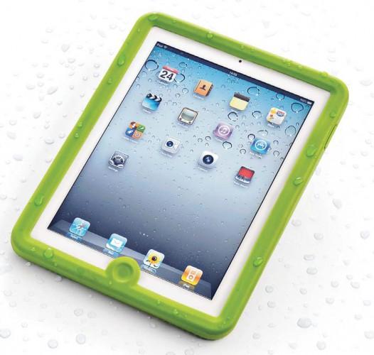 iPad Case, wasserdicht, für iPad1, grün
