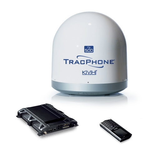 KVH TracPhone FB500 im TracVision TV6 Dom