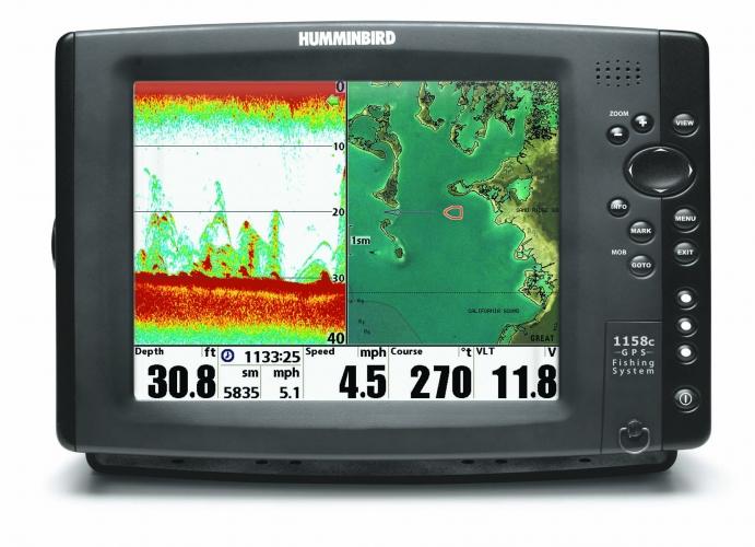 Humminbird 1158cx DF COMBO Fischfinder-Seekartenplotter / Auslaufmodell
