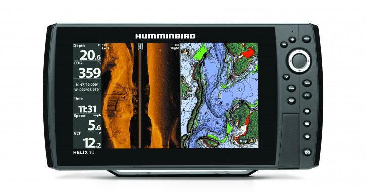 HELIX 10cx SI GPS G2N - Fischfinder (MEGA IMAGING) und Seekartenplotter