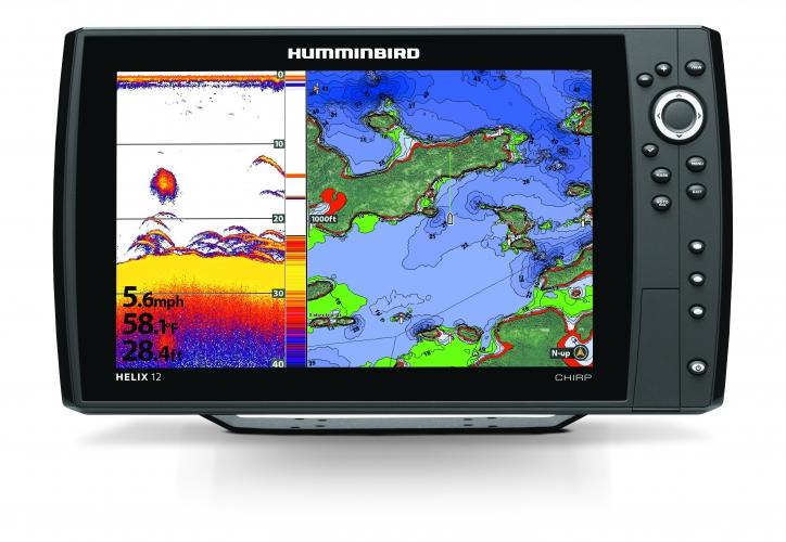 HELIX 12cx CHIRP SONAR GPS  GN2 - Fischfinder mit Seekartenplotter