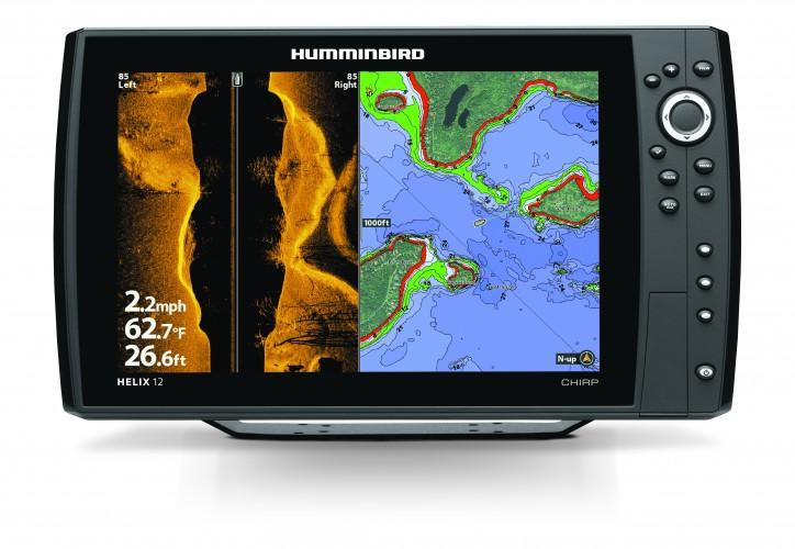 HELIX 12cx CHIRP SI GPS G2N - Fischfinder MEGA IMAGING + Seekartenplotter