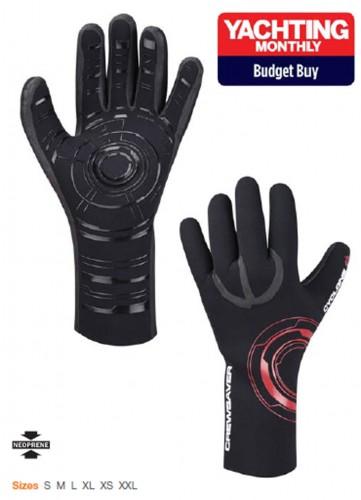 Cyclone Plus Handschuhe, 6325, 3 mm Neopren, schwarz, Größe M