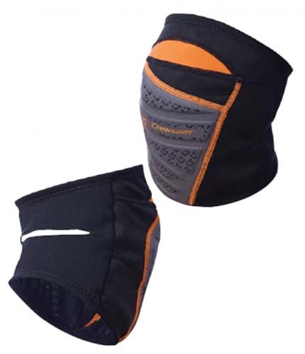 Phase 2 Knieschützer Größe L, 6909, schwarz/orange