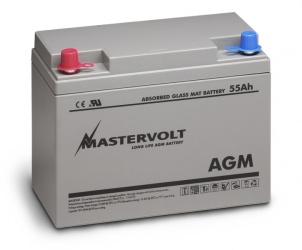 AGM-Batterie 12/55 Ah
