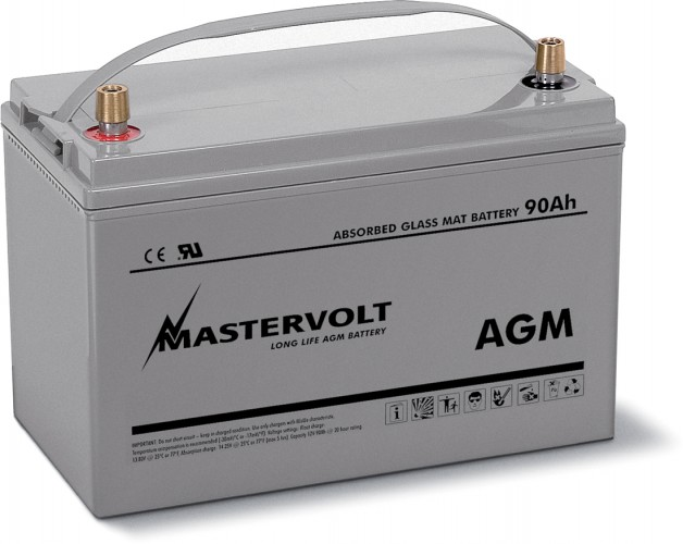 AGM-Batterie 12/90 Ah