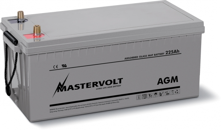 AGM-Batterie 12/225 Ah