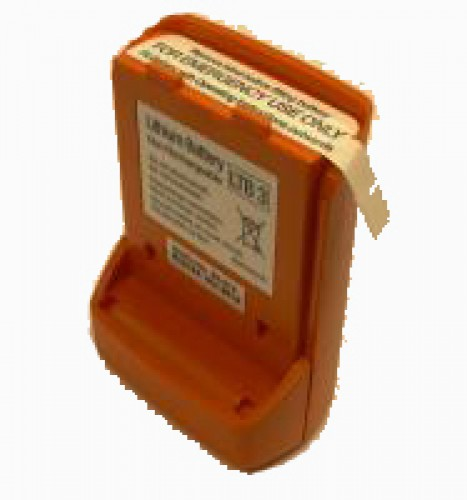 84-210, McMurdo Lithium-Batterie, orange, für R2
