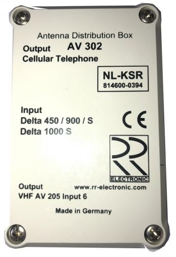 RR AV302 Antennenverteiler für Delta 450/900
