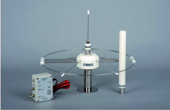 RR Alpha 1C - Basis Einzel-Antenne mit NET1 (Skandinavien)