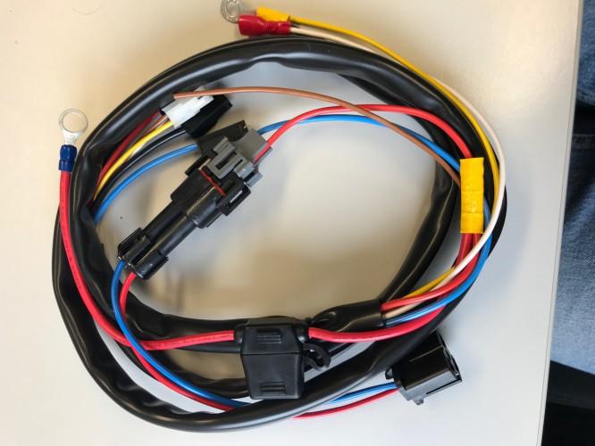 Alpha Pro Anschlusskabel für MB Lichtmaschinen