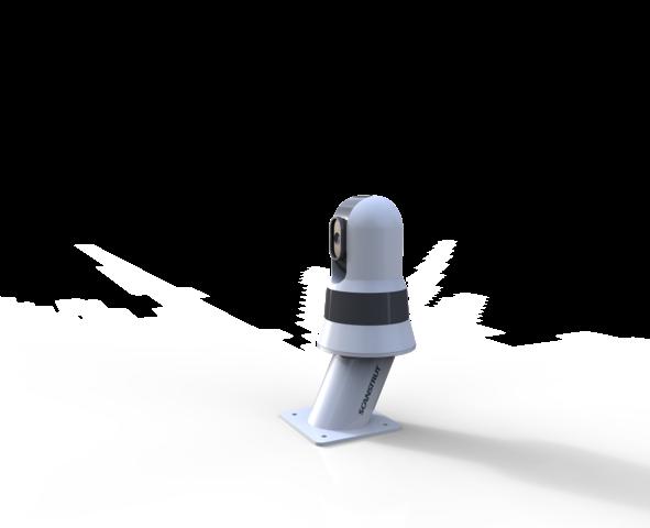CAM-PT-150-02 Kamera Power Tower für FLIR, Raymarine, M232, M132, Höhe: 150 mm
