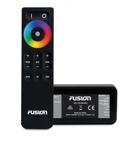 FUSION MS-CRGBW, Fernbedienung für FUSION CRGBW-Lautsprecher & Subwoofer