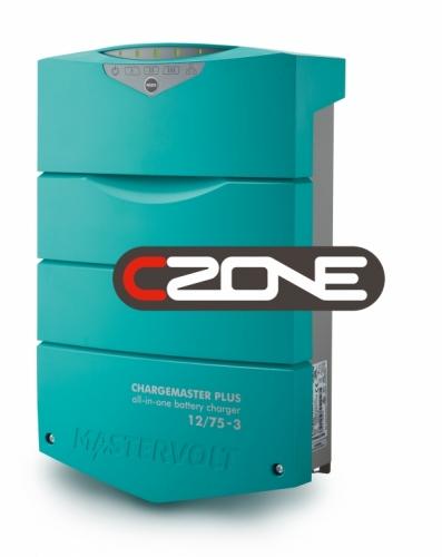 ChargeMaster Plus 12/75 CZone - 3 Ausgänge