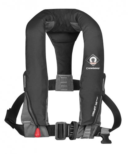 CrewFit 165N Sport Automatic + Harness, schwarz