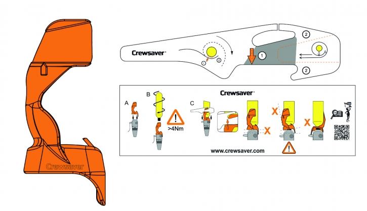 Crewsaver EXOLOK Sicherungssystem