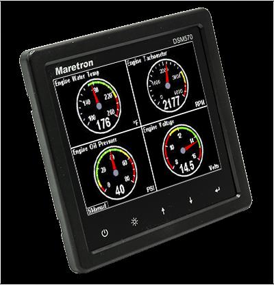 Maretron DSM570 - Grafische Multifunktionsanzeige für NMEA 2000