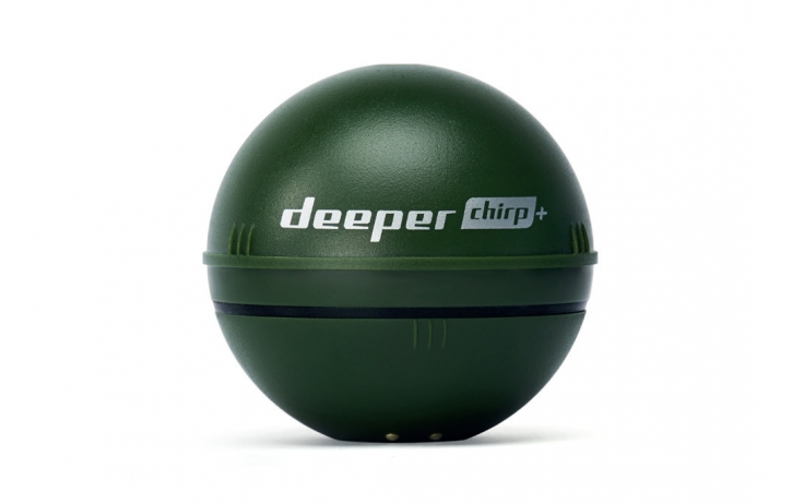 Deeper CHIRP+ - Smart Sonar mit CHIRP, WIFI + GPS, für iOS & Android