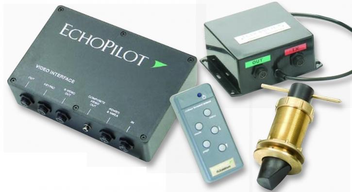 EchoPilot FLS Platinum - nur Video-Interface und Tastatur