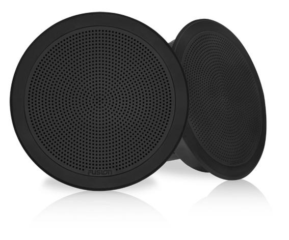 """FUSION FM-F65RB Lautsprecher 6,5"""", schwarz, rund, 120 W"""