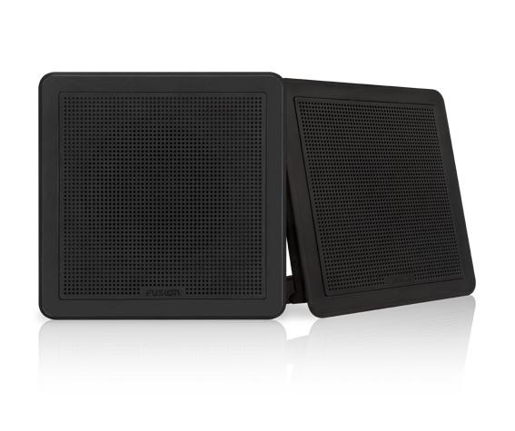 """FUSION FM-F65SB Lautsprecher 6,5"""", schwarz, viereckig, 120 W"""