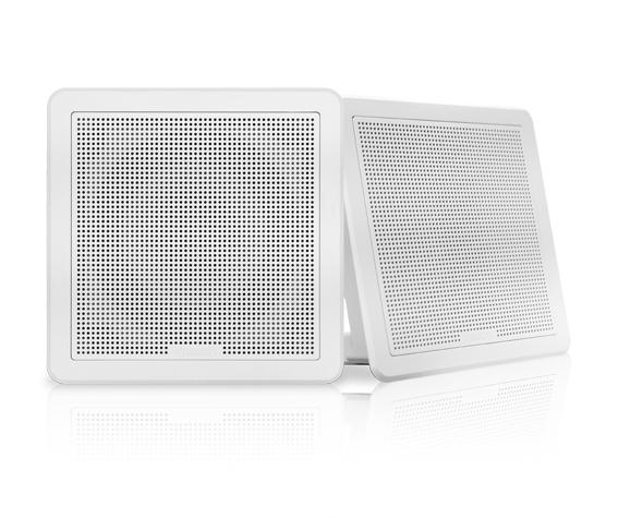 """FUSION FM-F65SW Lautsprecher 6,5"""", weiß, viereckig, 120 W"""