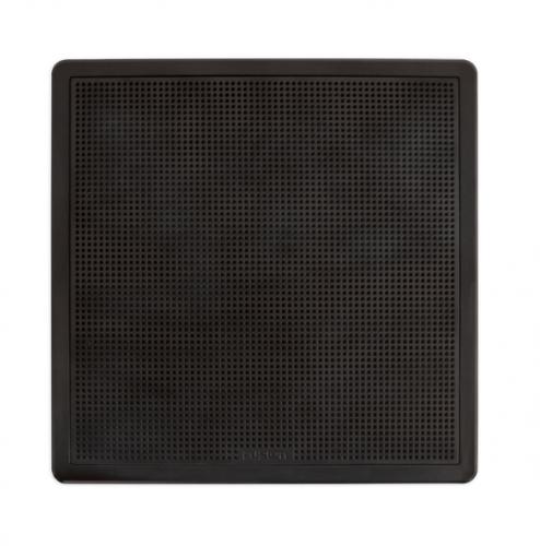 "FUSION FM-S10SB Subwoofer, 10"",  quadratisch, schwarz, 400 Watt"