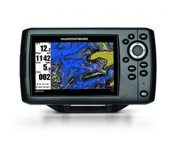 HELIX 5cx GPS - Seekartenplotter mit integrierter GPS-Antenne