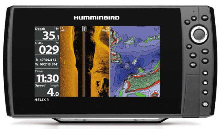 HELIX 9cx SI GPS - Fischfinder (Side Imaging) und Seekartenplotter