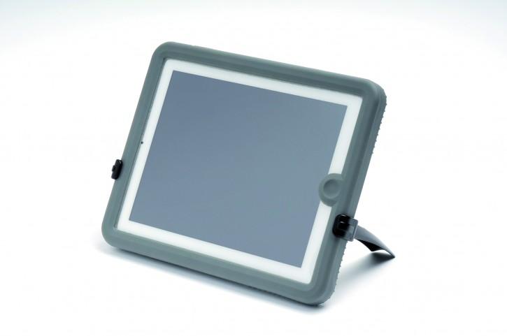iPad Case, wasserdicht, für iPad2/3/4, dunkelgrau