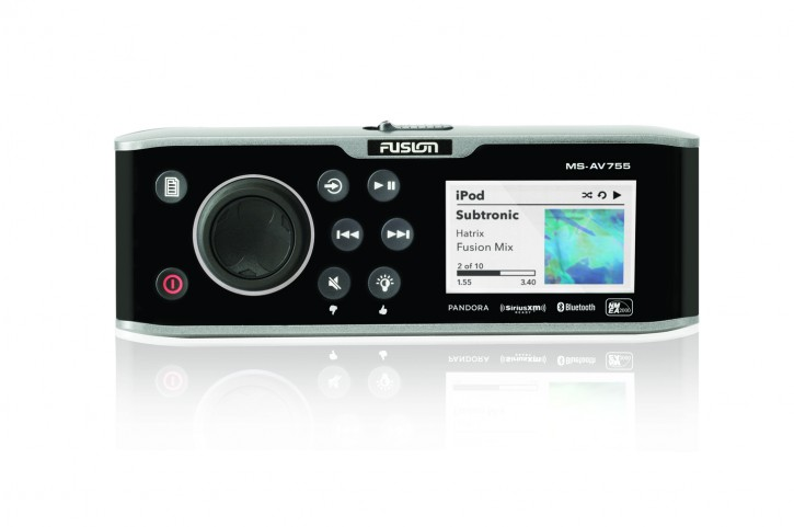 FUSION MS-AV755, DVD Player, AM/FM/CD/iPod/USB - Fusion Link™