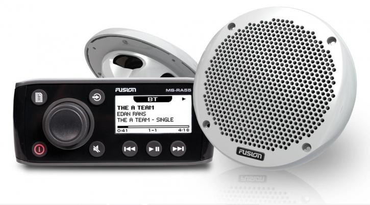 FUSION MS-RA55KTS mit Lautsprecher, AM/FM/VHF/iPod/USB - Fusion Link™