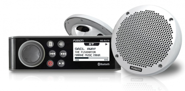 FUSION MS-RA70KT mit Lautsprecher AM / FM / DAB / USB / iPod / iPhone / Android / Bluetooth - Fusion Link™