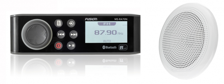 FUSION MS-RA70NKT mit Lautsprecher, AM / FM / DAB / USB / iPod / iPhone / Android / Bluetooth - Fusion Link™ mit NMEA 2000®