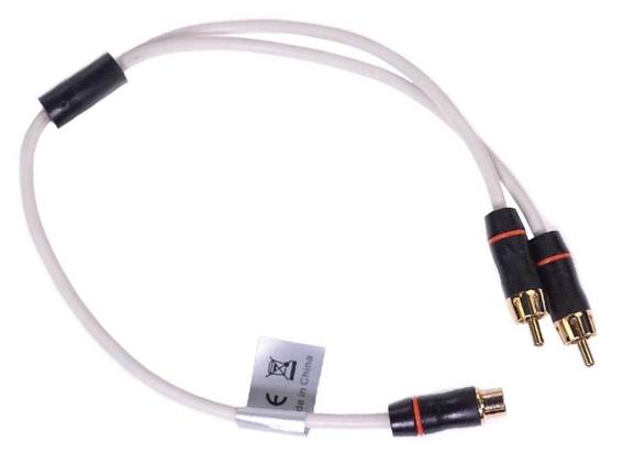 FUSION MS-RCAYM, Y-Splitter Kabel, weiblich auf 2x männlich