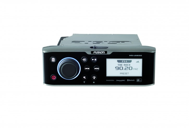 FUSION MS-AV650, DVD Player, AM / FM / CD / DVD / Bluetooth / USB / 2 x AUX / iPod / iPhone / MTP / SiriusXM™ vorbereitet
