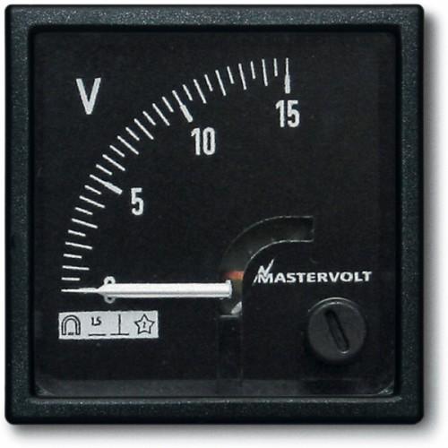 Voltmeter 9-15 DC 70902200, Mastervolt