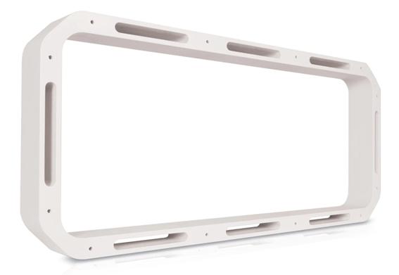 FUSION RV-FS16SPW Soundpanel Rahmen weiß, 16 mm