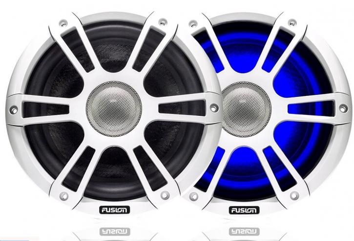 """FUSION SG-CL65SPW, 6,5"""" (16,51 cm) Lautsprecher, 230 Watt, weiß mit LED"""