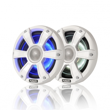 """FUSION SG-FL77SPW, 7,7"""" (19,56 cm) Lautsprecher, 280 Watt, weiß mit LED"""