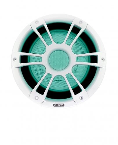 "FUSION SG-SL102SPW Subwoofer, 10"", weiß, mit RGB-LED, V3 - Signature Serie"