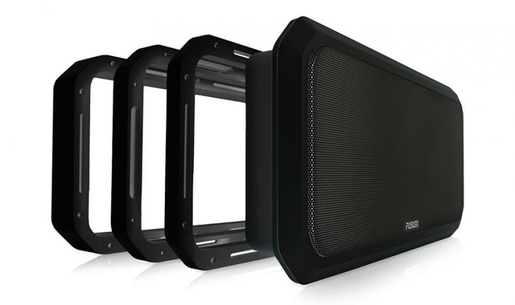 FUSION RV-FS16SPB Soundpanel Rahmen, schwarz, 16 mm