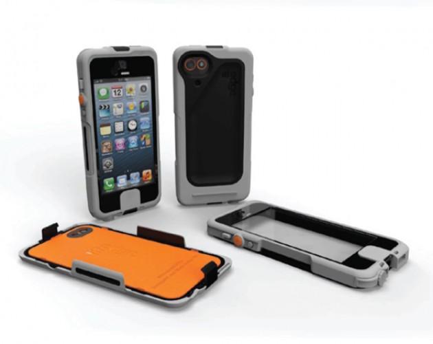 iPhone Case, grau, für iPhone 5 / 5s / 5SE