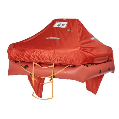 Mariner Rettungsinsel, 4 Personen, in Transporttasche