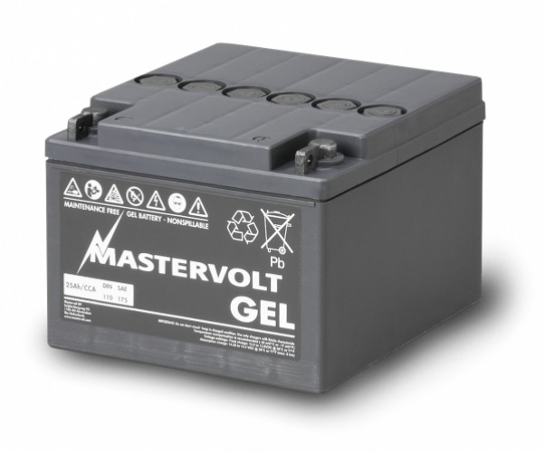 Gel Batterie MVG 12/25 Ah