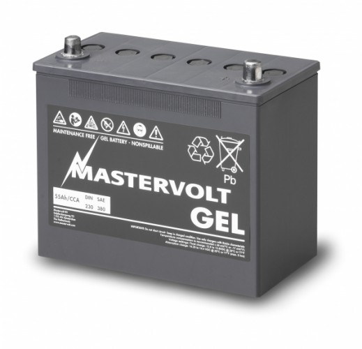 Gel Batterie MVG 12/55 Ah