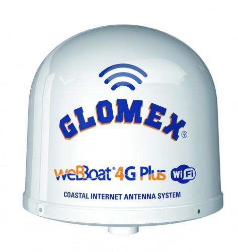 weBBoat 4G Plus - Internet-Antenne mit 4G/LTE Modem