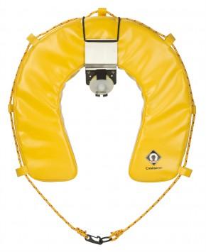 Hufeisen Rettungsring - Set mit Halterung und Notlicht, 100030